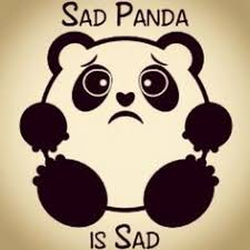 Image result for sad panda meme