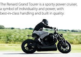 renard motorcycles renard gt description