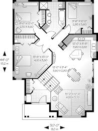 Ideas house plans for narrow lotsSunbelt home plan first floor   d    house plans and more Saunders narrow lot