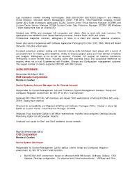 Amazing Oracle Identity Manager Resume Pictures - Simple resume .
