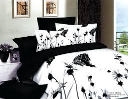 black and white full size bedding vintage bedroom design with black white bedding set black and