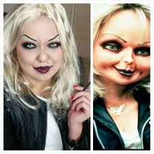 makeup bride of chucky