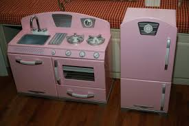retro play kitchen sets furniture that you intended for pink regarding your own home kidkraft vintage kidkraft retro kitchen