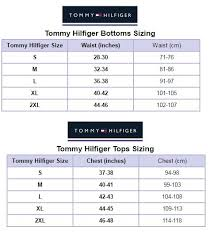 Tommy Hilfiger New York Fit Size Chart Perspicuous Tommy Jeans Size Guide 2019