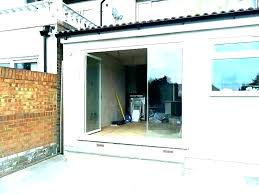 folding glass door cost bi