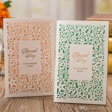 Wedding Invitations Setslaser Cut Wedding Invitations Cards