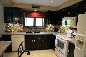 stone kitchen backsplash dark cabinets.  Dark Stone Backsplash With Dark Cabinets Kitchen Shining  White Quartz Counters And Marble  To Stone Kitchen Backsplash Dark Cabinets I