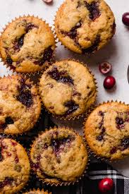 Swirled Cranberry Cornbread Muffins Plays Well With Butter