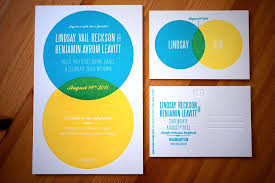 Wedding Diagram Lindsay Bens Modern Venn Diagram Wedding Invitations