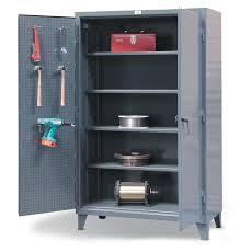 industrial storage cabinet with doors.  Doors Industrial Storage Cabinet With Pegboard Doors On With I