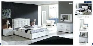 white modern bedroom sets. White Modern Bedroom Sets Furniture With Tufted Bed
