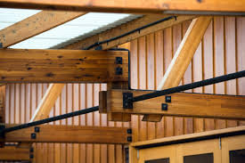 Designs For Glued Trusses Glulam Victorian Ash Trusses By Y2 Architecture