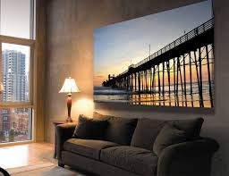 How To Decorate An Apartment Without Painting New Featured Beautiful Sunset Wall Poster For Warm Living Room For