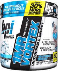 bpi sports 1 m r vortex pre workout powder offer