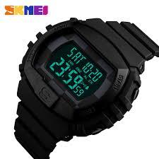 SKMEI <b>Outdoor Sports Men Watches</b> Military Electronic Alarm Clock ...
