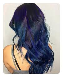 Subtle Blue Highlights 90 Highlights For Black Hair That Looks Good On Anyone Style Easily