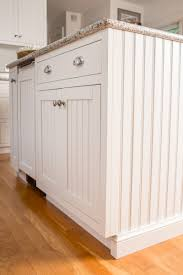 White Beadboard Kitchen Cabinets Kitchen Remodel In Bedford Ny Beachy Cabinet Design Ackley