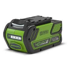 <b>Аккумулятор Greenworks</b> Li-Ion G-MAX 40V 4 Ач купить по цене ...