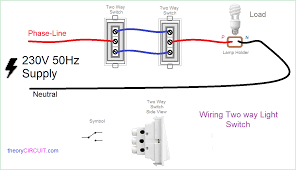 2 way light switch wiring diagram images gallery