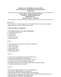 Berdasarkan jadwal resmi dari bkn, skd cpns 2019 dilaksanakan pada 27 januari hingga 28 februari 2020. Soal Tes Skala Kematangan Dan Kunci Jawaban Pdf Jawabanku Id