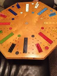 Fast Track Wooden Board Game