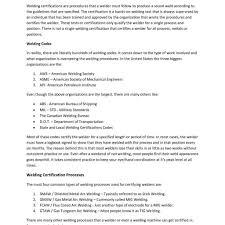 Resumes Welder Resume Resumesamples Net Welding Inspector Format