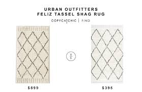 urban outfitters felize tassel rug for 899 vs nuloom venice collection moroccan rug for 395
