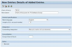 What Is Chart Of Accounts In Sap How To Create Coa In Sap