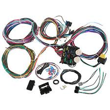 universal wire 12 circuit hot rod wiring harness for chevy mopar Universal GM Wiring Harness universal wire 12 circuit hot rod wiring harness for chevy mopar ford street