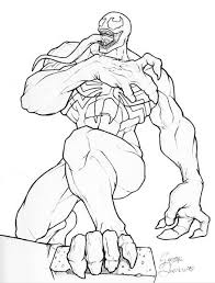 Small Picture venom coloring pages