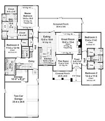 2500 square foot bungalow floor plans house plan chp amazing 10 on home