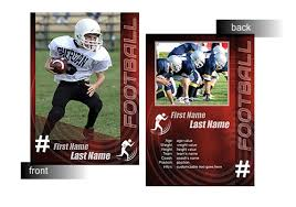 free trading card template 15 psd football trading card images baseball trading card template