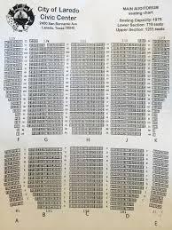 Laredo Civic Center Seating Chart Rio Roma On Saturday January 30 At 8 30 P M
