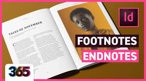 Footnotes Endnotes Indesign Cc Tutorial 326365
