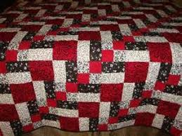 54 best Red and black quilts images on Pinterest   Knitting ... & Black White Red Patchwork Quilt - Long Arm Quilted David likes this pattern  and colour Adamdwight.com