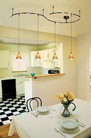 pendant lighting track. dining room with pendant track lighting
