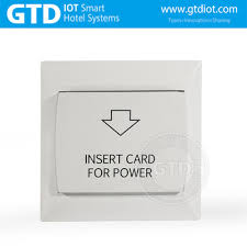Hotel Plastic Panel Mifare Card Key Card Power Switch Insert Card To Gain Room Power Buy Hotel Power Switch Room Status Function Mifare Card Type