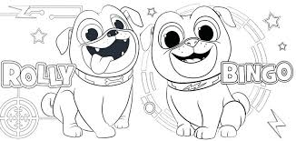 Rolly Puppy Dog Pals Coloring Pages Free Coloring Pages Neat Design