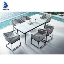 garden table and chairs aluminum patio
