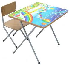 <b>Комплект детской мебели Фея</b> №101 Алфавит и цифры (стол стул)