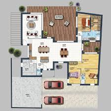 description envie de faire construire une maison plain pied moderne