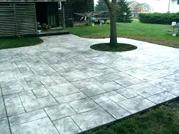 how to paint cement patio stamped cement patio design ideas modern with best paint for concrete