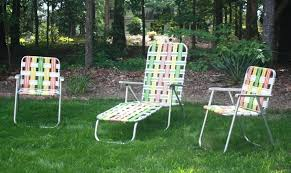 folding porch chairs retro patio web lawn large size