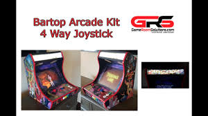 4 Player Arcade Cabinet Kit Bartop Arcade Kit Game Room Solutions