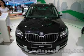 new car launches october 2014 india2014 Skoda Yeti facelift launching in India during SeptOct