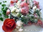 салат из цветной капусты с помидорами на зиму рецепты