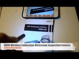 Cly usb endoscope inspection camera for iphone/android 2.0mp cmos 1080p hd waterproof inspection camera amzn.to/2lfond1 features: Abox Wireless Endoscope Borescope Inspection Camera For Iphone Or Android Youtube
