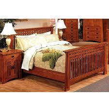 craftsman furniture. quarter sawn oak mission craftsman king slat bed view images furniture h