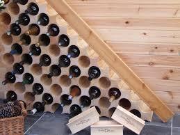 unique contemporary wine rack