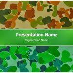 Camouflage Powerpoint Template Military Camo Powerpoint Template